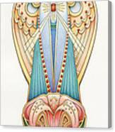 Scroll Angels - Lillium Canvas Print