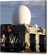 Sea Based X-band Radar Dome Modeled Canvas Print