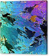 Sea Ice Core One Millimeter Thick Canvas Print