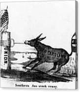 Secession Cartoon, 1861 Canvas Print