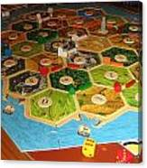 Settlers Of Catan Canvas Print