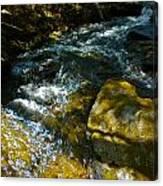 Shadowed Cascade Canvas Print