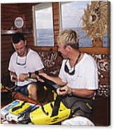 Shark Protection Device Canvas Print