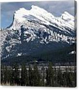 Sharp Rundle Peaks Canvas Print