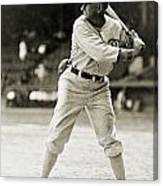 Shoeless Joe Jackson  (1889-1991) Canvas Print