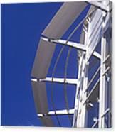 Shopping Centre Architecture Canvas Print