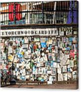 Shrine To Ianto Canvas Print