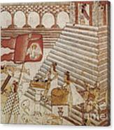Siege Of Tenochtitlan 1521 Canvas Print