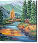 Sierra Creek Canvas Print