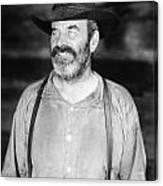 Silent Film Still: Beards Canvas Print
