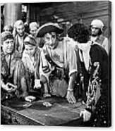 Silent Film Still: Pirates Canvas Print