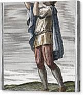 Slide Trumpet, 1723 Canvas Print