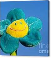 Smile Flower Canvas Print