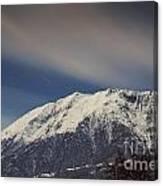 Snow-capped Alps Canvas Print