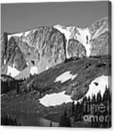 Snowy Range In Summer Canvas Print