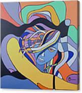 Sour Blue Canvas Print