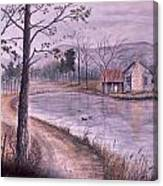 South Carolina Morning Canvas Print