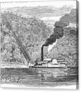 South: Cotton, 1861 Canvas Print