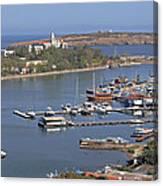 Sozopol Harbour Canvas Print