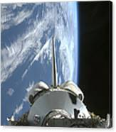 Space Shuttle Endeavours Payload Bay Canvas Print