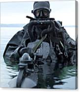 Special Operations Forces Combat Diver Canvas Print