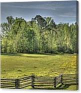 Split Rail Canvas Print