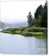 Spring Morning Big Ditch Lake Canvas Print