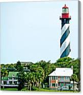 St. Augustine Lighthouse Canvas Print