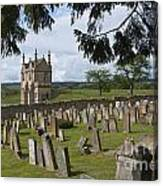 St James Church Graveyard Canvas Print