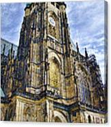 St Vitus Cathedral - Prague Canvas Print