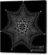 Star Fish Kaleidoscope Canvas Print