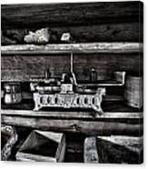 Steelyard Canvas Print