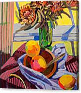 Still Life With Mangoes Canvas Print