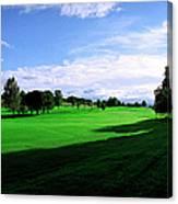 Stirling Golf Club Fairway Canvas Print