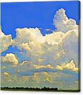 Storm Clouds Rising  Art Canvas Print