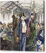 Streetcar, 1876 Canvas Print