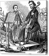 String Quartet, 1846 Canvas Print