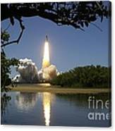 Sts-121 Launch Canvas Print