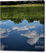 Summer's Reflections Canvas Print
