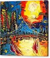 Sun City Canvas Print