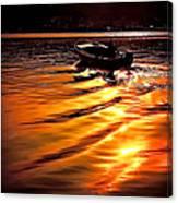 Sun Road Canvas Print
