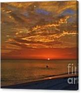 Sunset Ami Canvas Print