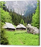 Tatra Mountains In Poland Canvas Print