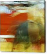 Tauromaquia Bull-fights In Spain Canvas Print