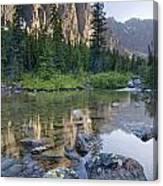 Taylor Lake, Banff National Park Canvas Print