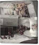 Tea And Gulliver Canvas Print