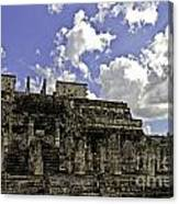 Temple Of The Warriors Canvas Print