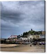 Tenby Harbour From North Beach 2 Canvas Print