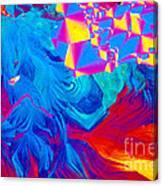 Testosterone Crystal Canvas Print