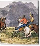 Texas Cowboys, C1850 Canvas Print